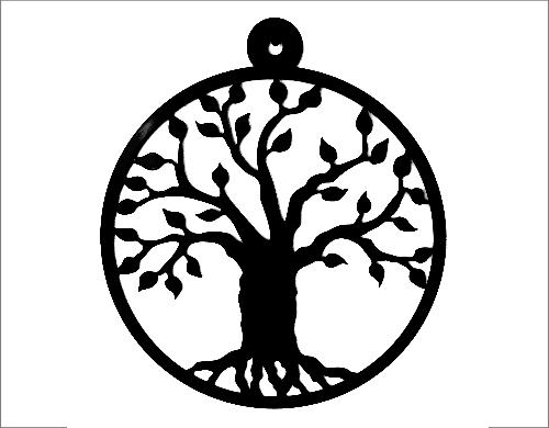 levensboom zwart