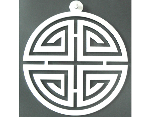 interieurhanger shou/lang leven symbool