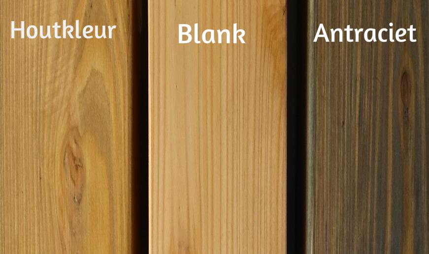 optie hout kleuren