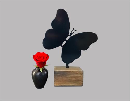 Keepsake urn vlinder