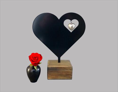 Keepsake urn hart