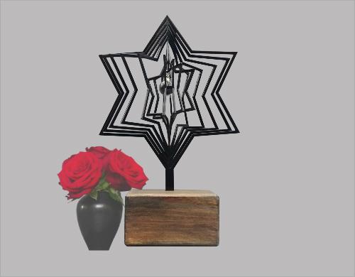 718ste00 gedenk urn ster