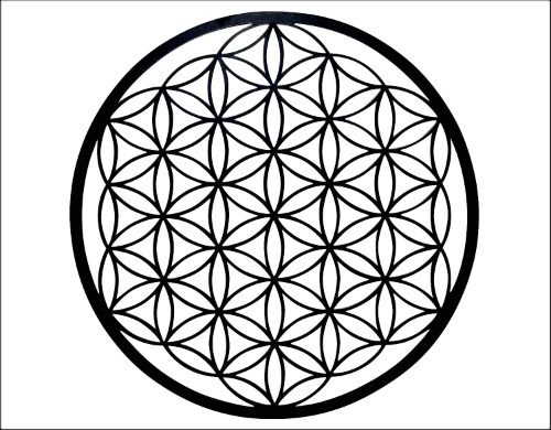 wanddecoratie flower of life