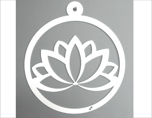 Interieurhanger lotus wit