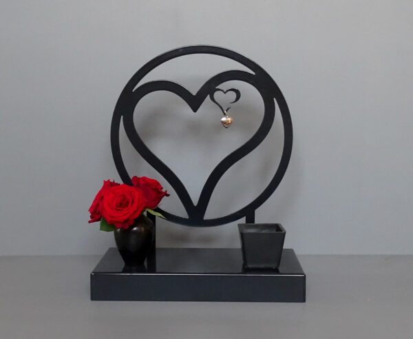 Urn hart in hart