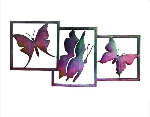 Wanddeco Vlinders gepassiveerd