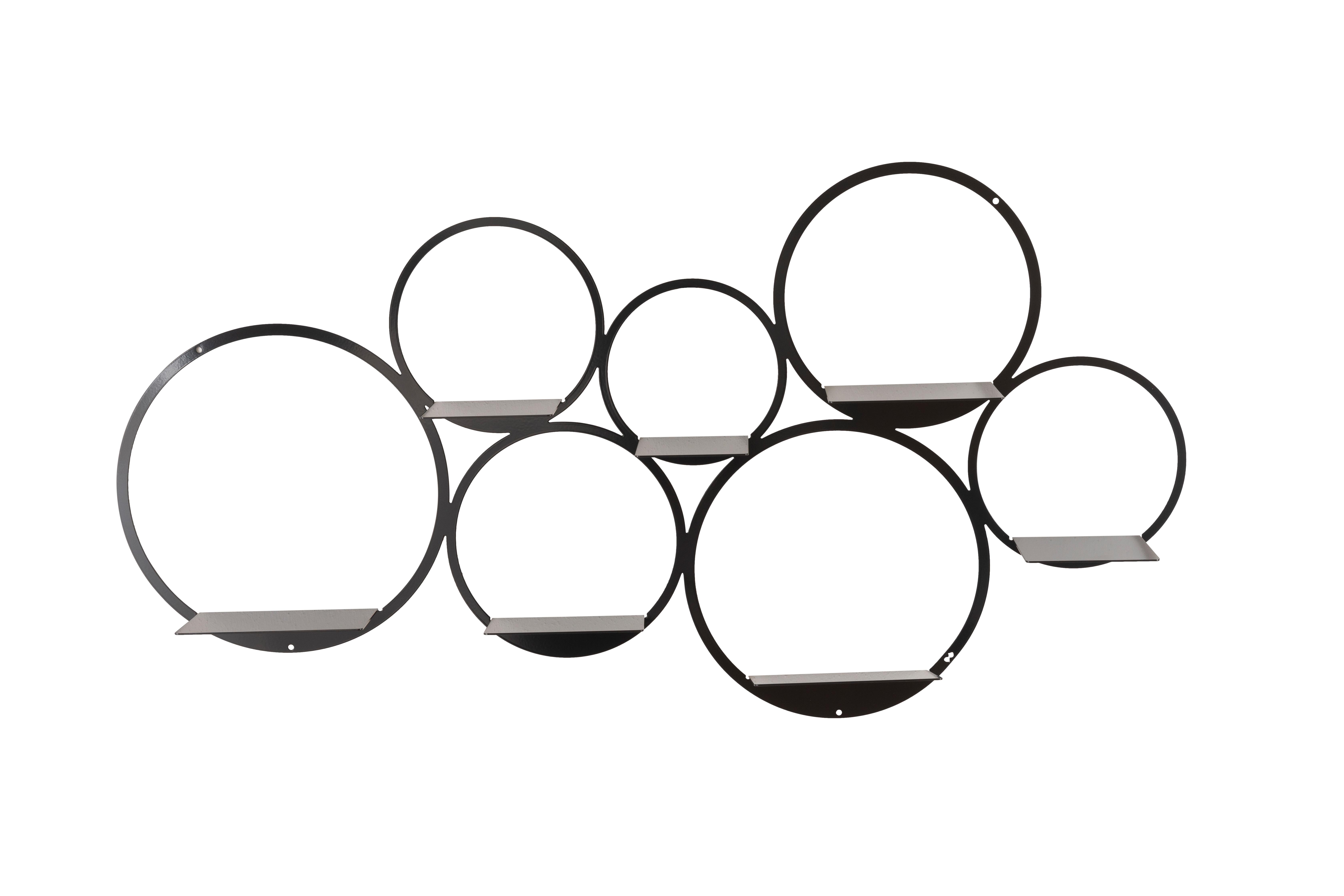 wanddecoratie gezette cirkels