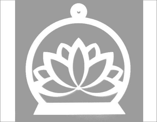 Lotus muurplateau