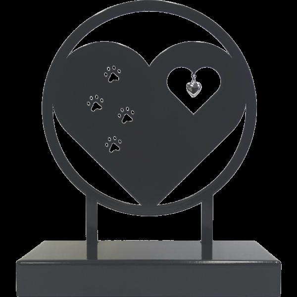 urn hart met pootjes