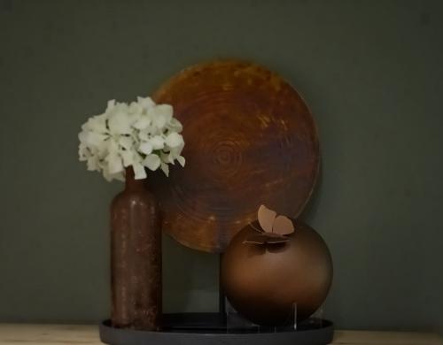 RVS urnen bronscoating