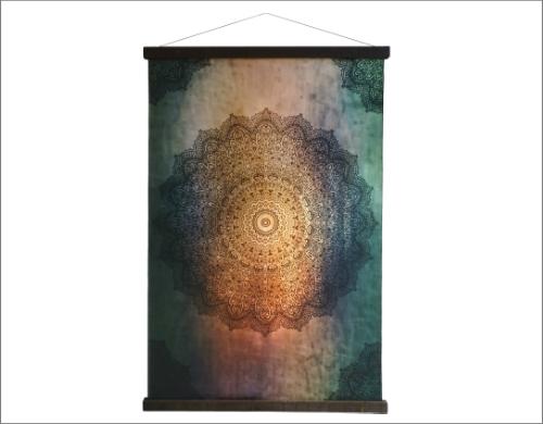 Mandala wandkleed
