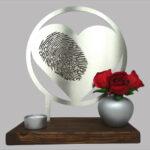 vingerprint urn