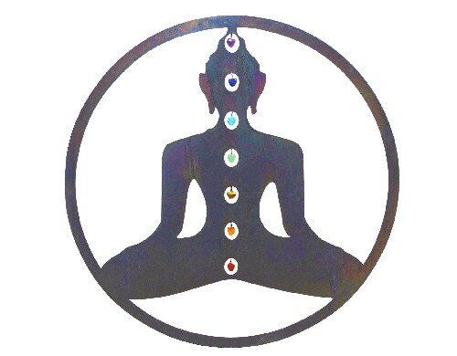 yoga wanddecoratie