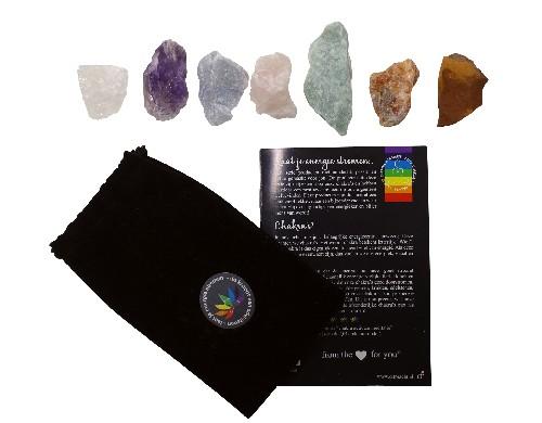 chakra stenen set
